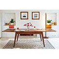 novin 150 cm extendable dining table